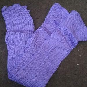 Long Knit Leg Warmers